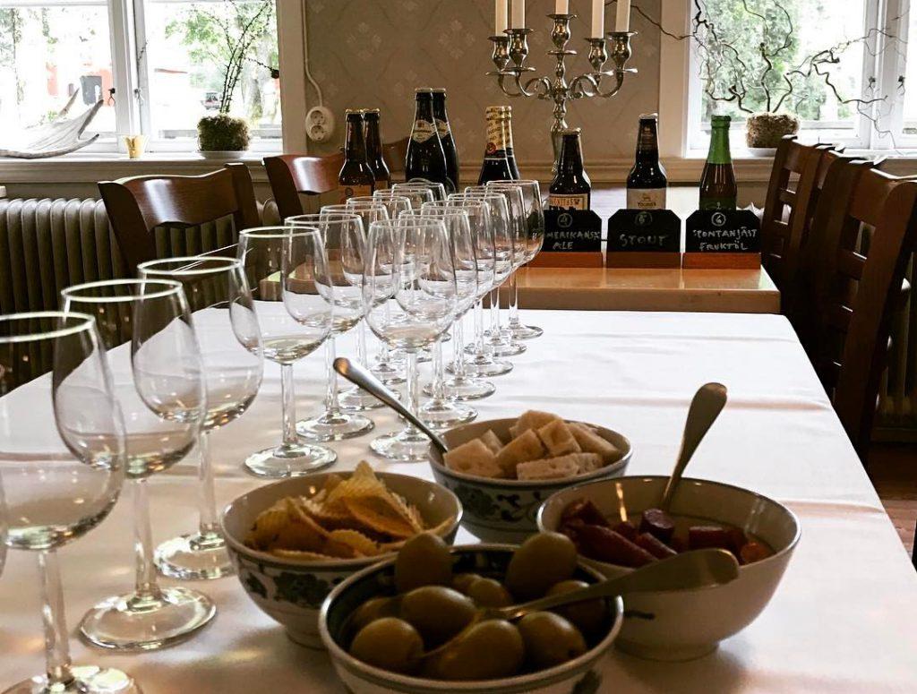 öl och vinprovning